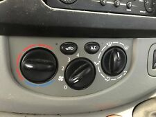 RENAULT TRAFIC HEATER SWITCHES WITH AIRCON 02-14 VIVARO PRIMASTAR