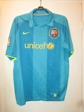 Maillot jersey shirt camiseta trikot BARCELONA BARCELONE 2007-2008 CAMP NOU away