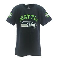Seattle Seahawks Official NFL Apparel Kids Youth Girls Size T-Shirt New Tags