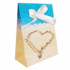 Beach Love 12 Favor Bags Wedding Bridal Shower Luau Party