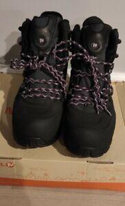 Merrell J88172,Women Boots ,Black/Purple, Size USA10,EURO 41