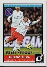 Donruss Soccer 2015 Bronze Parallel Base Card [299] #54 Thiago Silva