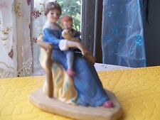 "Norman Rockwell Figurine ""Bedtime"" 1985 (Height 4.25"")"