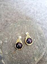 (1 pair available) HANDMADE! Genuine Pearl Earrings 20085