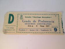 ENTRADA FUTBOL - C.D. MALAGA - REAL MADRID C DE F.  - ESTADIO SANTIAGO BERNABEU