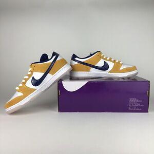 Nike SB Dunk Laser Orange BQ6817-800 Brand New size 10 Men's Lakers Colors