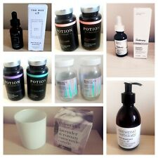 Bundle Empty Used Brown Dropper Glass Bottles Jars The Ordinary Nue This Works