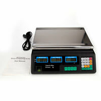 40Kg LED Digital Display Scale Electronic Shop Weight Scales Food Kitchen Weigh