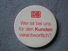 """Deutsche Bahn, Taschenspiegel """"Wer ist bei uns für den Kunden verantwortlich?"""""""