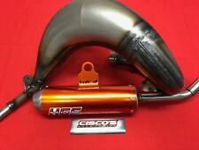 KTM SX85 2018 HGS Exhaust System Orange with Vortex CDI
