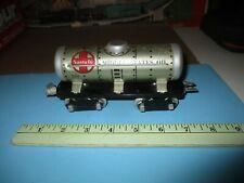 Marx 6 inch 8 wheel 553 Santa Fe Tank car modified