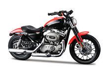 Harley Davidson 2007 XL 1200N Nightster échelle 1:18 noir orange de maisto