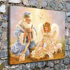 10450Christmas angel poster Home Decor HD Canvas Print Picture Wall Art Painting