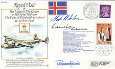 Rare RV15e Royal visit to lceland HM The Queen HM British Ambassador to Iceland