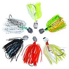 6PCS Fishing Spoon mepps Lure buzzbait fishing spinners baits hook 12/15/20g