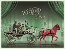 2015 Mondo The Wizard of Oz Dkng 175 Red Horse Variant Screen Print Poster Mint
