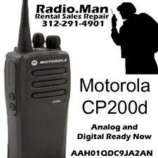 Motorola CP200d DIGITAL & ANALOG READY NOW 2-Way Radio UHF 16CH 4 Watts NEW