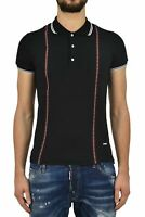 Dsquared2 T-Shirt Homme Noir Mod.S71GD0463S23033900