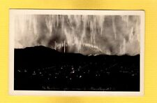 RPPC The Northern Lights as seen from Prince Rupert,British Columbia,Canada