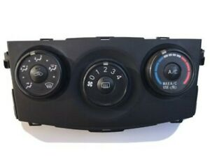 2009-2013 TOYOTA COROLLA HEATER AC CLIMATE CONTROLS *BLACK* 55903 75D403