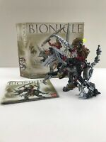 Lego Bionicle 8811 Toa Lhikan & KikanTalo Box & Instructions Missing one Weapon