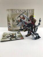 Lego Bionicle 8811 Toa Lhikan & KikanTalo Box & Instructions Missing one Weapon