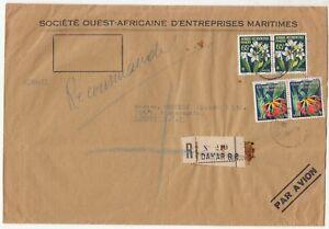 Senegal: Cover; Societe Ouest-Africaine D'Entreprises Maritimes, Dakar to London