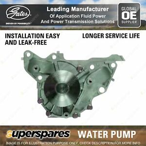 Gates Water Pump for Hyundai Terracan HP Kia G6CU V6 4WD 3.5L 143KW With Housing