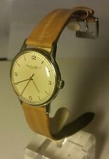 IWC International Watch Co Wrist Watch c1949, Stainless Steel, 35mm, Eel Strap!!