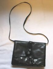 Vintage 1960's Lisette New York Purse Nappa and Snakeskin Leather Clutch Bag