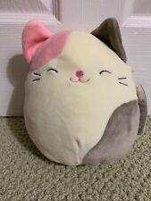 "Brand New! Squishmallow 8"" Karina the Cat Pillow Plush Super Soft NWT"
