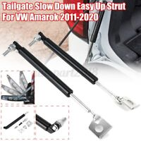 2PCS Rear Trunk Tailgate Gas Slow Down Strut For Volkswagen/Amarok 2011-2020