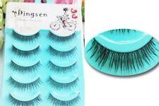 Wholesale 5 Pairs Natural Fascinating Cute False Eyelashes Black Beauty Makeup