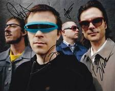 Weezer In-Person AUTHENTIC Autographed Band Photo COA SHA #73349