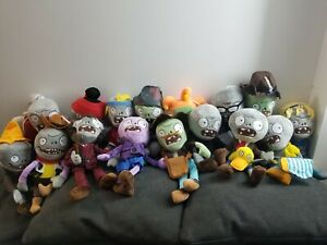 Plants vs Zombies PVZ Figures Soft Plush Baby Stuffed Doll Toy Kids U.S Seller
