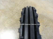 TWO 6.50-16 BKT TF-8181 Vintage Tread Front Tractor Tires WITH Tubes