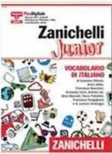 Zanichelli Junior  Vocabolario di italiano  ZANICHELLI 9788808189929