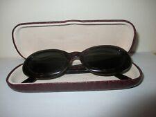 """Giorgio Armani"" - Vintage, Brown Oval Sunglasses - 943 063 140 - Made in Italy!"