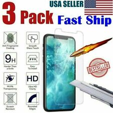 Tempered Glass Screen Protector For i Phone 11 Pro Max XR XS X 8 6s Plus