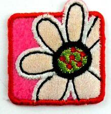 Applikation zum Aufbügeln Bügelbild 3-649 Blume