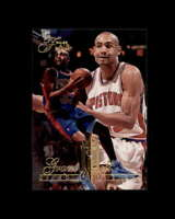 Grant Hill Rookie Card 1994-95 Flair #213 Detroit Pistons