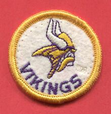 "Minnesota Vikings - With Tm round 2 1/16"" Embroidered Patch"