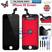 For iPhone SE 5S Retina LCD Screen Replacement Touch Display Digitizer Black