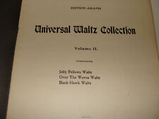 Jolly Fellows, Over the Waves, Black Hawk Waltz Adams Universal Collection Vol 2