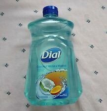 Dial Liquid Hydrating Hand Soap Wash Refill Coconut Water & Mango 52oz NEW