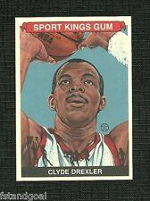 CLYDE DREXLER SPOT KINGS SERIES F PREMIUM G BACK CARD PORTLAND HOUSTON