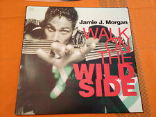 "JAMIE J MORGAN - Walk On The Wild Side - 1990 Aus 12"" Vinyl 3 tracks - NMINT"