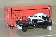 FIRST GEAR 19-2284 1956 FORD CHIEFS CAR NASHVILLE POLICE UNIT 12 MINT BOXED na