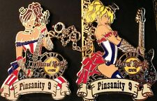 Hard Rock Cafe LAS VEGAS 2013 PINsanity #9 Chained Twin BURLESQUE Girls 2 PINS