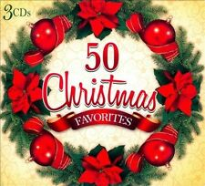 Starlight Orchestra and Singers : 50 CHRISTMAS FAVORITES (3 CD Set) CD